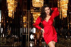 Atmosphere Fashion, Wrap Dress, Amazing Outfits, Lady, Dresses, Tulle, Passau, Vestidos, Dress