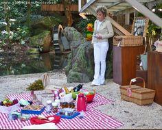 Ana Maria dá dicas para você preparar um lindo piquenique  (Foto: Mais Você/ TV Globo)