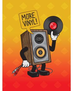 More Vinyl please. Home Music, Dj Music, Music Stuff, Music Is Life, Techno Music, Vinyl Music, Vinyl Art, Vinyl Records, Orange Monkey