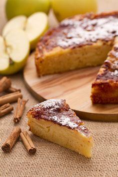 La torta rustica di mele