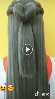 Ceren Türk has just created an awesome short video with 2002 Ponytail Hairstyles, Pretty Hairstyles, Girl Hairstyles, Amazing Hairstyles, Hair Braiding Salon, Sexy Curls, Hair Videos, Hair Hacks, Hair Trends