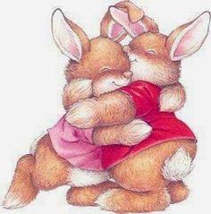 Bunny hugs. <3