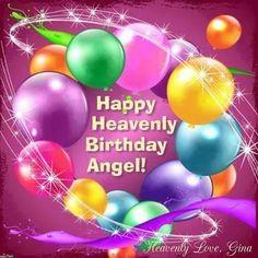 Birthday Angel, Birthday Bash, Happy Birthday Wishes Cards, Birthday Greetings, Missing Dad Quotes, Happy Heavenly Birthday, First Love, Birthdays, Anniversary