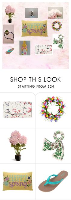 """""""Spring/Easter Gift Ideas"""" by missy69-etsy ❤ liked on Polyvore featuring Ivanka Trump, Improvements, National Tree Company, Tory Burch, Volcom and Zephyr"""