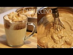 How to make homemade Cappuccino ? Coffee Cream at home ? Easy and tasty recipe! Ingredients : Instant coffee 🥃 Sugar 🥃 Cold water 🥃 V. How To Make Cappuccino, Cappuccino Coffee, Coffee Cream, How To Make Coffee, Mousse, Easy Delicious Recipes, Yummy Food, Tasty Recipe, Mexican Food Recipes