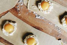 Egg yolk ravioli (and a white truffle experience) : Emiko Davies Egg Yolk Ravioli, Ricotta Ravioli, Italian Chef, Italian Recipes, White Truffle, Pasta Machine, Cooking Together, Fresh Pasta, Salted Butter