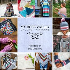 b2a8d124fc49f My Rose Valley crochet patterns on Etsy and Ravelry.