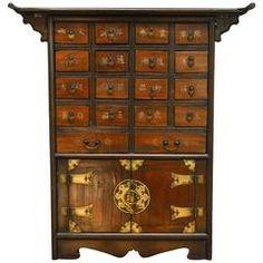 96 Drawer Medicine Cabinet - OrientalFurniture.com   Products I ...