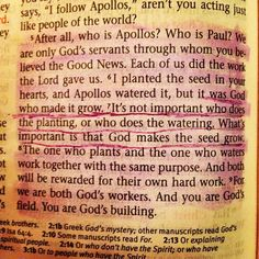 What do you think are the implications for the underlined verse? #Bible