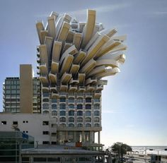 These Examples of Surrealist Architecture Will Make You Feel Dizzy - Baustil Ideen Unusual Buildings, Interesting Buildings, Amazing Buildings, French Buildings, Modern Buildings, Unique Architecture, Futuristic Architecture, Interior Architecture, Building Architecture