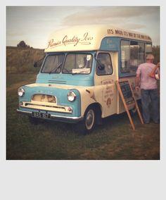 Ice Cream Van, vintage