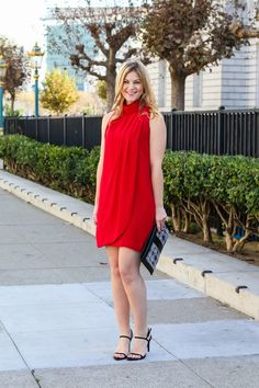 Red Holiday Dress -