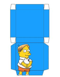 """The Simpsons """"Martin"""" Box .... free to use and free to share for personal use. <3"""