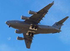 RAAF C-17 at Warbirds Over Wanaka 2008  Type: Boeing C-17A Globemaster III Registration: A41-207 Location: Wanaka Airport Date: 23/03/2008