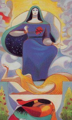 Dante Tarot: Queen of Cups