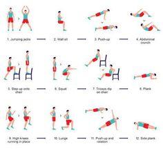 Rangkaian Gerakan Metode Latihan Olahraga O7W