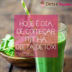 Quem aqui vai começar a sua #dietadetox hoje levanta a mão! o/
