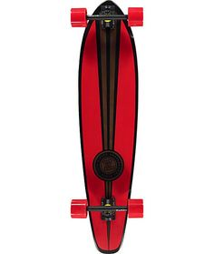 Get a fun new carver to rip around town on with a classic round tail shape with milled wheel wells to reduce the risk and bite of wheel bite. Long Skate, Old School Skateboards, Longboarding, Surf Art, Skateboard Decks, Surfing, Snowboards, Wells, Fun