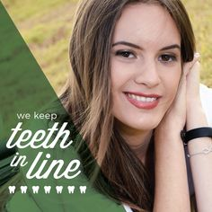 ORTHODONTISTS SPECIALIZE in correcting even the unruliest of smiles! Give us a call if your teeth need to be put in line!