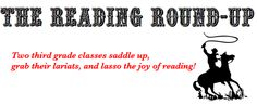 The Reading Round-up (3rd grade)