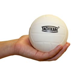 Mini White Volleyball