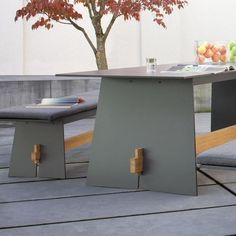 The Tension Outdoor Set Was Created By The Design Trio Maly Hoffmann  Kahleyss For The Manufacturer Conmoto.