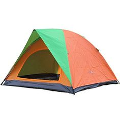 Family Camping Tents 4-Person Tent Waterproof for Outdoor Sports Camping Hiking -- Tried it! Love it! Click the image. : Hiking tents