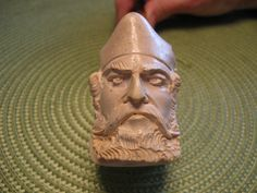 Hand Carved Meerschaum Pipe by UnderWillowOaks on Etsy, $35.00