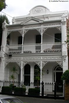Australian filigree homes - 1880s