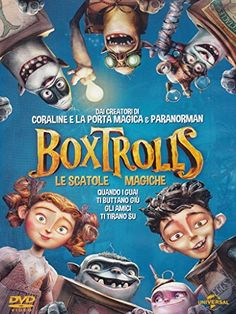 The Boxtrolls - Le Scatole Magiche  prestabile dal 28/07/2016