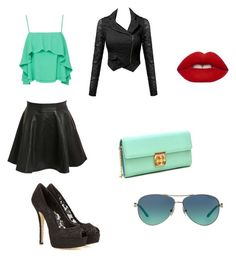 """""""blue Badass?💙"""" by demigoddess-shadowhunter ❤ liked on Polyvore featuring Dolce&Gabbana, Pilot, Apiece Apart, Dasein, Lime Crime and Tiffany & Co."""