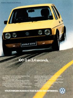 1981 Volkswagen Golf GTS (South Africa) by IFHP97, via Flickr