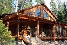 Northern Minnesota Custom Lake Home | Mitchell Watkins Construction