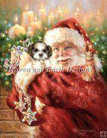 Shih tzu for Christmas