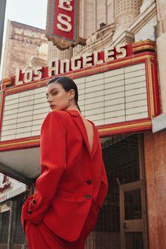 Jacquelyn Jablonski Vogue Poland Colorful Suiting Fashion Editorial # Fashion editorial Jacquelyn Jablonski Suits Up in Rainbow Hues for Vogue Poland Glamour Fashion, Mode Glamour, Foto Fashion, Grunge Fashion, New Fashion, Fashion Models, Urban Fashion, Runway Fashion, Style Fashion
