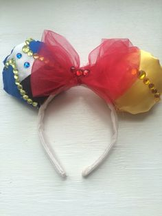 Mickey/minnie mouse beauty and the beast inspired ears! Check them out in my etsy shop https://www.etsy.com/shop/simplycharming214?ref=hdr