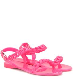 ba383be824889f Givenchy - Jelly Flat sandals Jelly Sandals