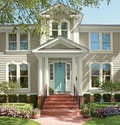 Repaint your front door