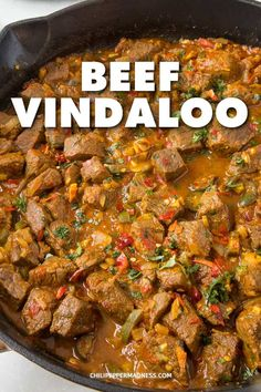 Spicy Beef Vindaloo - This beef vindaloo recipe is always a popular curry dish. - Spicy Beef Vindaloo – This beef vindaloo recipe is always a popular curry dish. My version is won - Top Recipes, Spicy Recipes, Curry Recipes, Healthy Dinner Recipes, Mexican Food Recipes, Cooking Recipes, Spicy Beef Curry Recipe, Ethnic Food Recipes, Stewing Beef Recipes