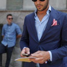 Men's Fashion.  Great color combination! #fashion #mensfashion