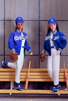 Los Angeles Dodgers Barbie 1999. The only Barbies my girls would be allowed to have haha