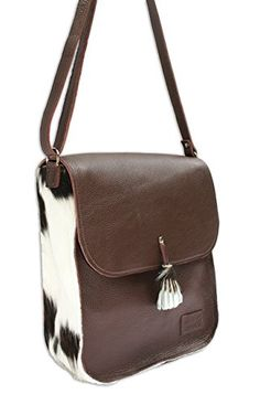 63fb4843b Brown Leather Cowhide Messenger Bag -- Click image for more details.-It is