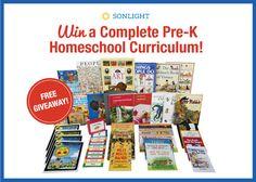 Sonlight Complete Pre-K Program Giveaway {$400+ value!}
