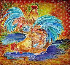 The Art of Batik Motifs of Chicken