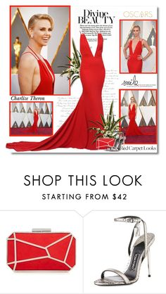 """""""Charlize Theron at the 88th Annual Academy Awards!!"""" by lilly-2711 ❤ liked on Polyvore featuring Lipsy, Tom Ford, RedCarpet, Oscars, Dior, TOMFORD and CharlizeTheron"""