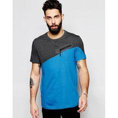Camiseta asimétrica de Addict