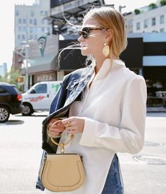 The Nile at  NYFW – Tine Andrea downtown with our new season bracelet bag,  captured by Tommy Ton  chloeGIRLS 32e82a390a