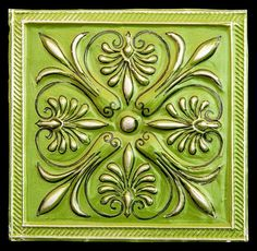 Embossed metal by paperartsy
