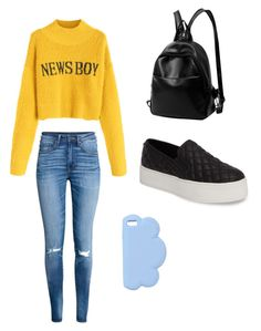 """""""Casual School Day Outfit #24"""" by seragart on Polyvore featuring H&M, Steve Madden and STELLA McCARTNEY"""