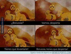El Borussia está hundido